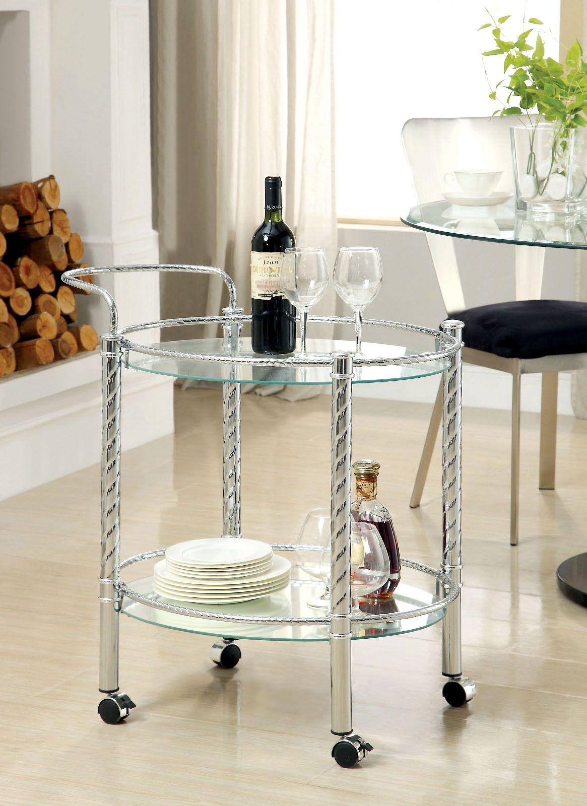 Traco Serving Cart | Serving cart, Warehouse and Chrome