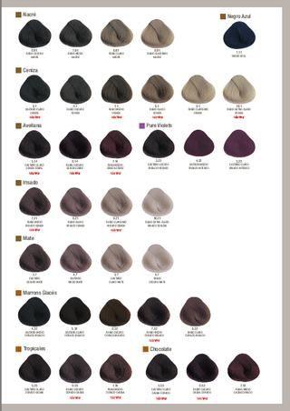 Tonos De Rubio Carta De Colores Carta De Colores Evolution Of The Color Diferentes Colores De