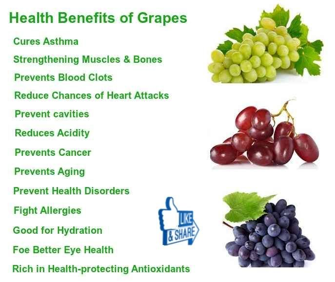grapes is good for diet?