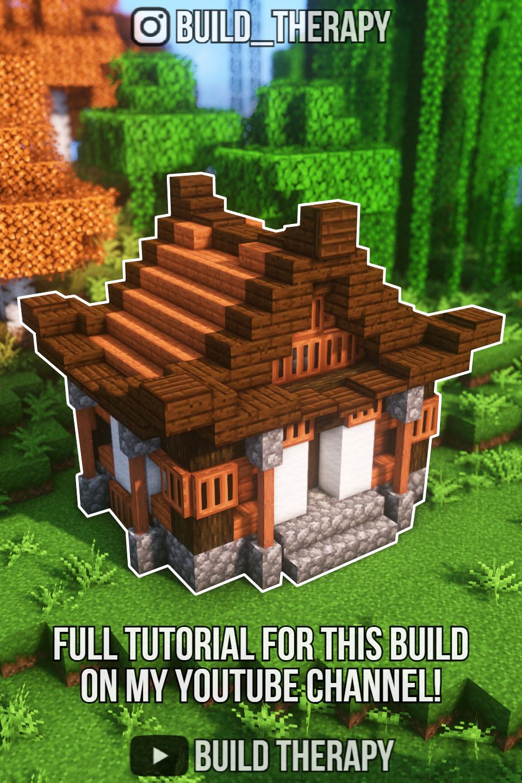 Minecraft Simple Japanese Starter House Tutorial