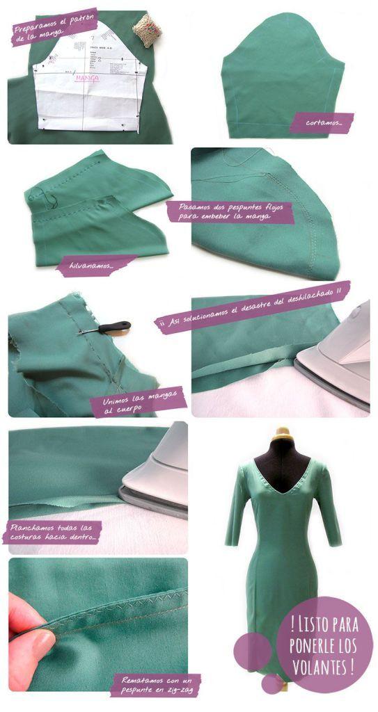 Como hacer un vestido de flamenca para mujer