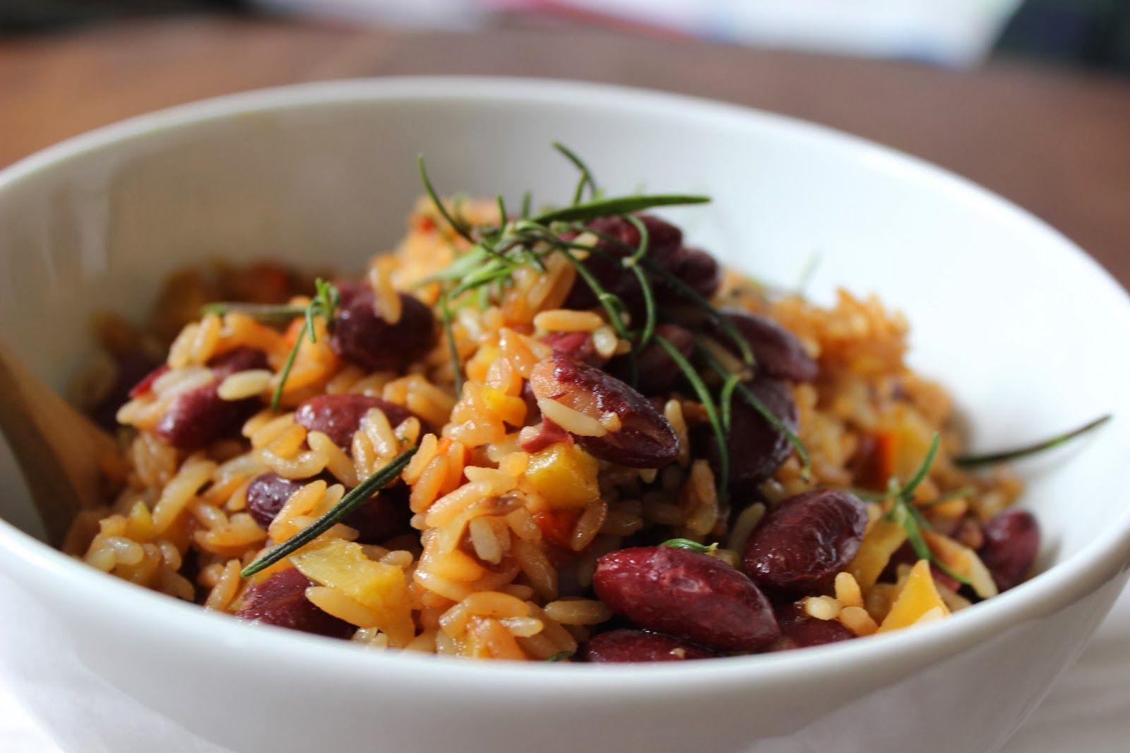 arroz, feijão. abóbora _ às nove no meu blog