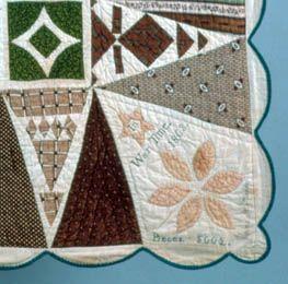 150th Anniversary of the Jane Stickle Quilt | Bennington Museum ... : jane stickle quilt - Adamdwight.com