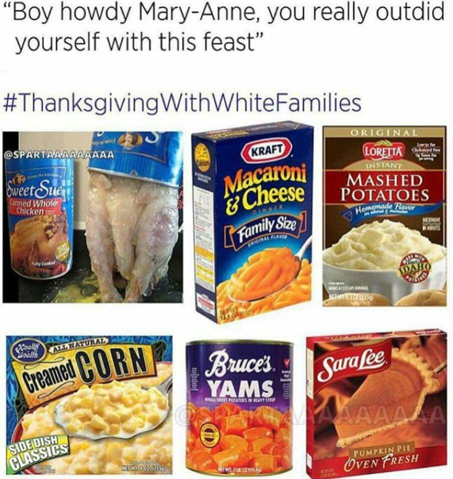 Pin by Shirley Allen on Thanksgiving with white families