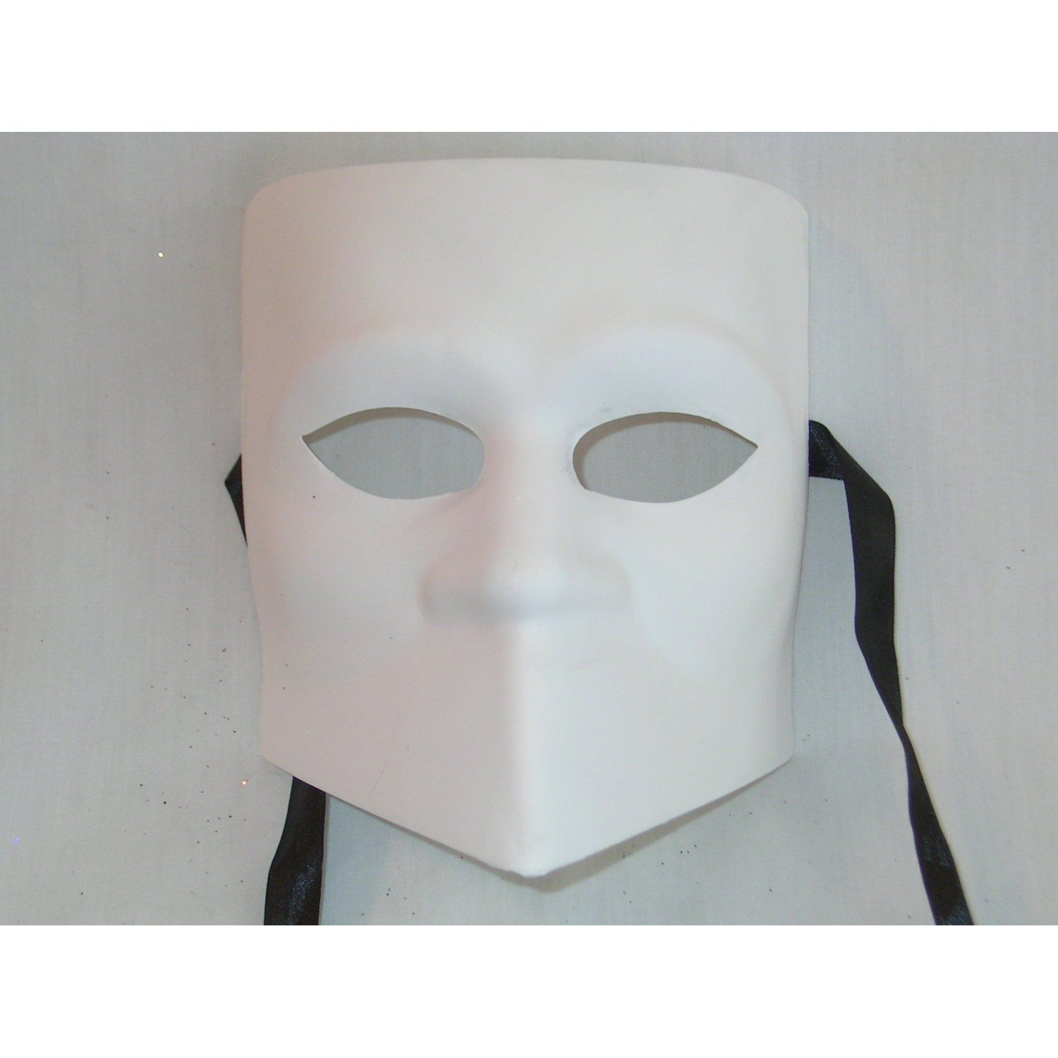 Blank Face Masks To Decorate Amazon Venice Buys Venetian Masks Blank White Bauta Grezzo