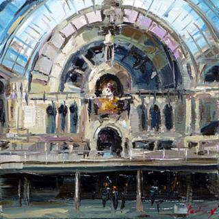 Jurij Frey: Eisenbahn Kathedrale von Antwerpen