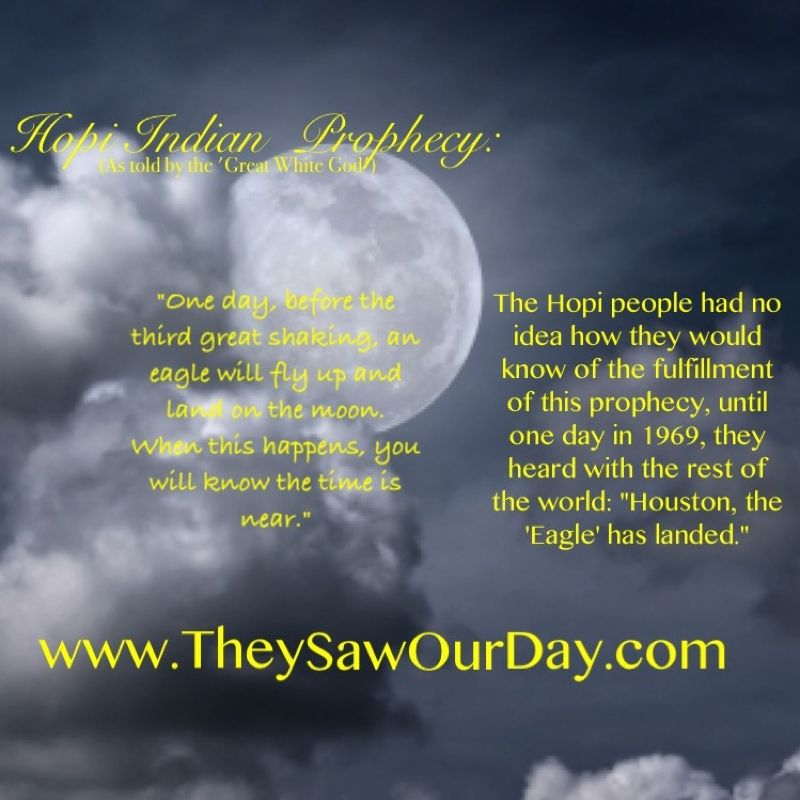 Hopi Prophecy Rainbow: Fulfilled Prophecy Given To The Hopi Indians