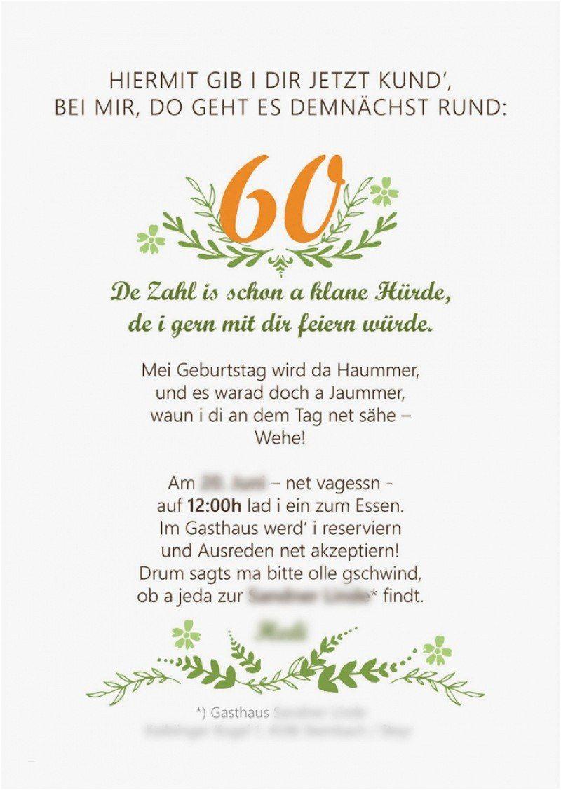 Einladung 60 sprüche lustige Lustige Sprueche