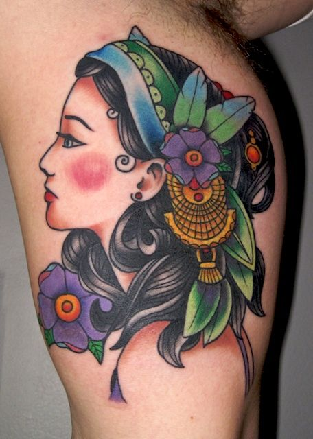 gypsy kings tattoos gypsygirlhead