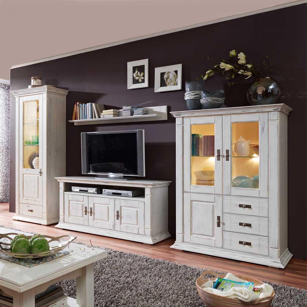 Wohnzimmer Schrank Shabby in 6  Furniture design living room
