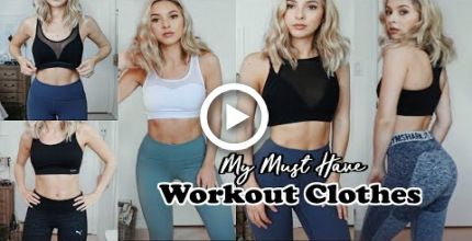 MY MUST HAVE WORKOUT CLOTHES | Lululemon, Gymshark, Puma Etc #fitness
