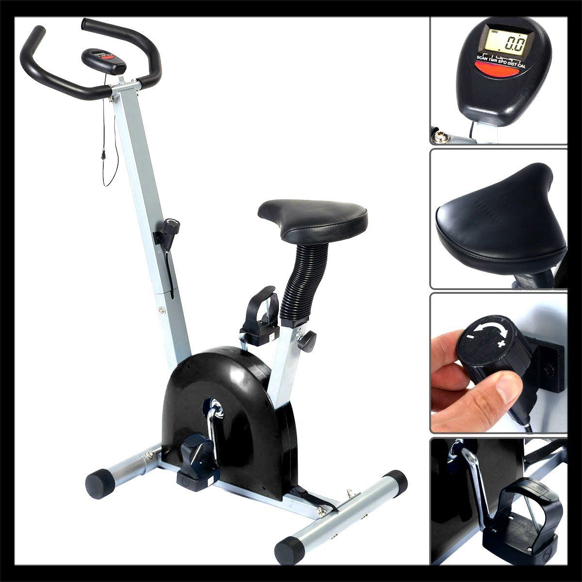 Indoor Exercise Bike Cardio Fitness Gym Cycling Machine Workout