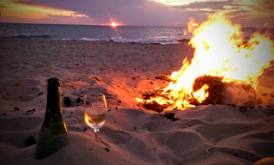 Pin by Kathy McCarthy on WoodBurningBliss   Beach fire ...
