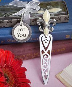 Fleur De Lis Design Bookmarks