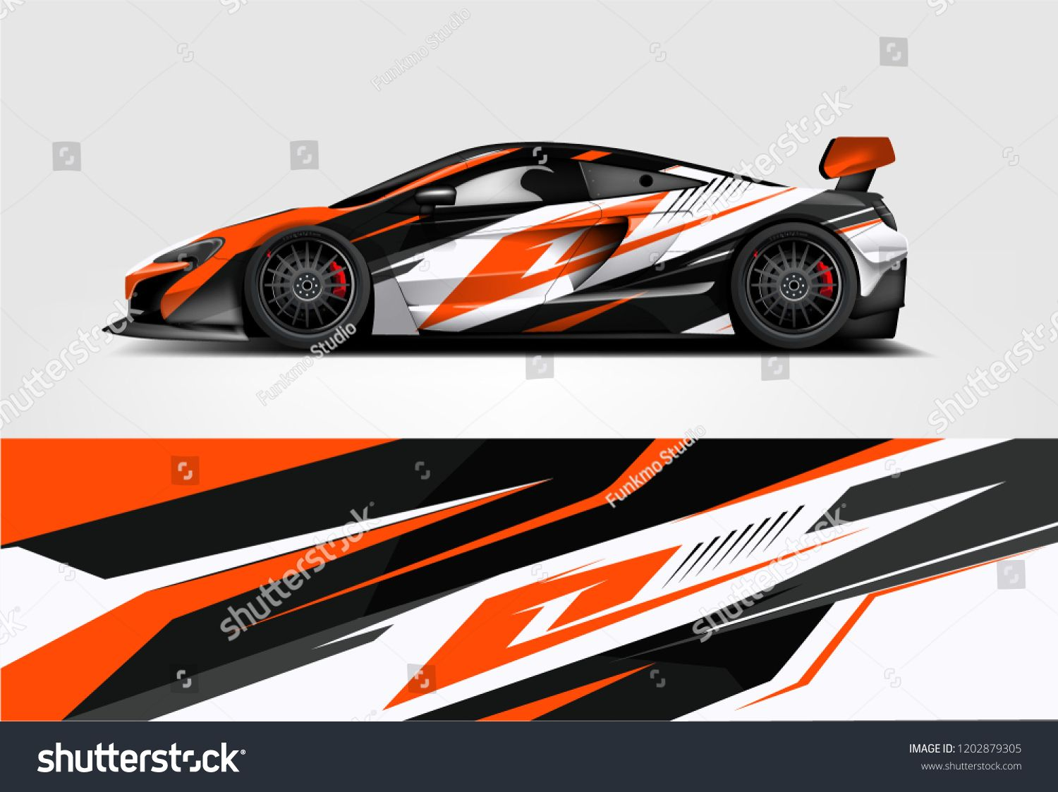 Car Decal Wrap Design Vector Graphic Abstract Stripe Racing Background Kit Designs For Vehicle Race Car Car Sticker Design Car Wrap Design Racing Car Design [ 1123 x 1500 Pixel ]