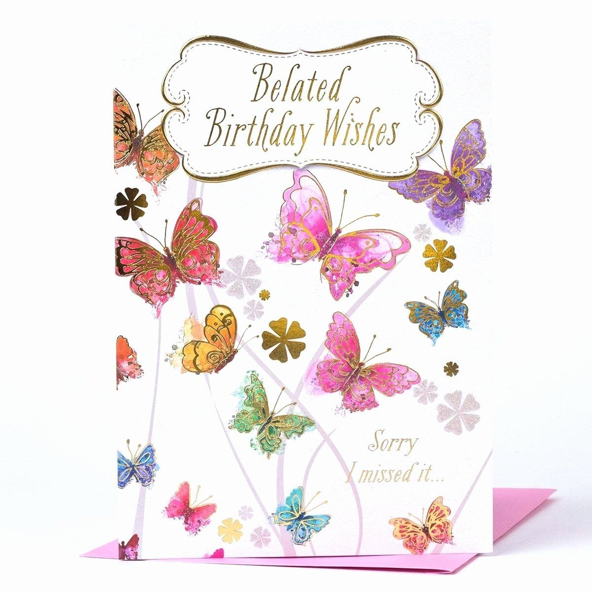 Funny Belated Birthday Quotes in 2020 Belated birthday