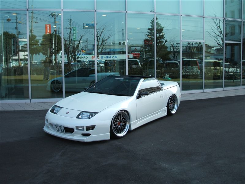 White Vert Nissan 300zx Nissan Nissan 300zx Cars
