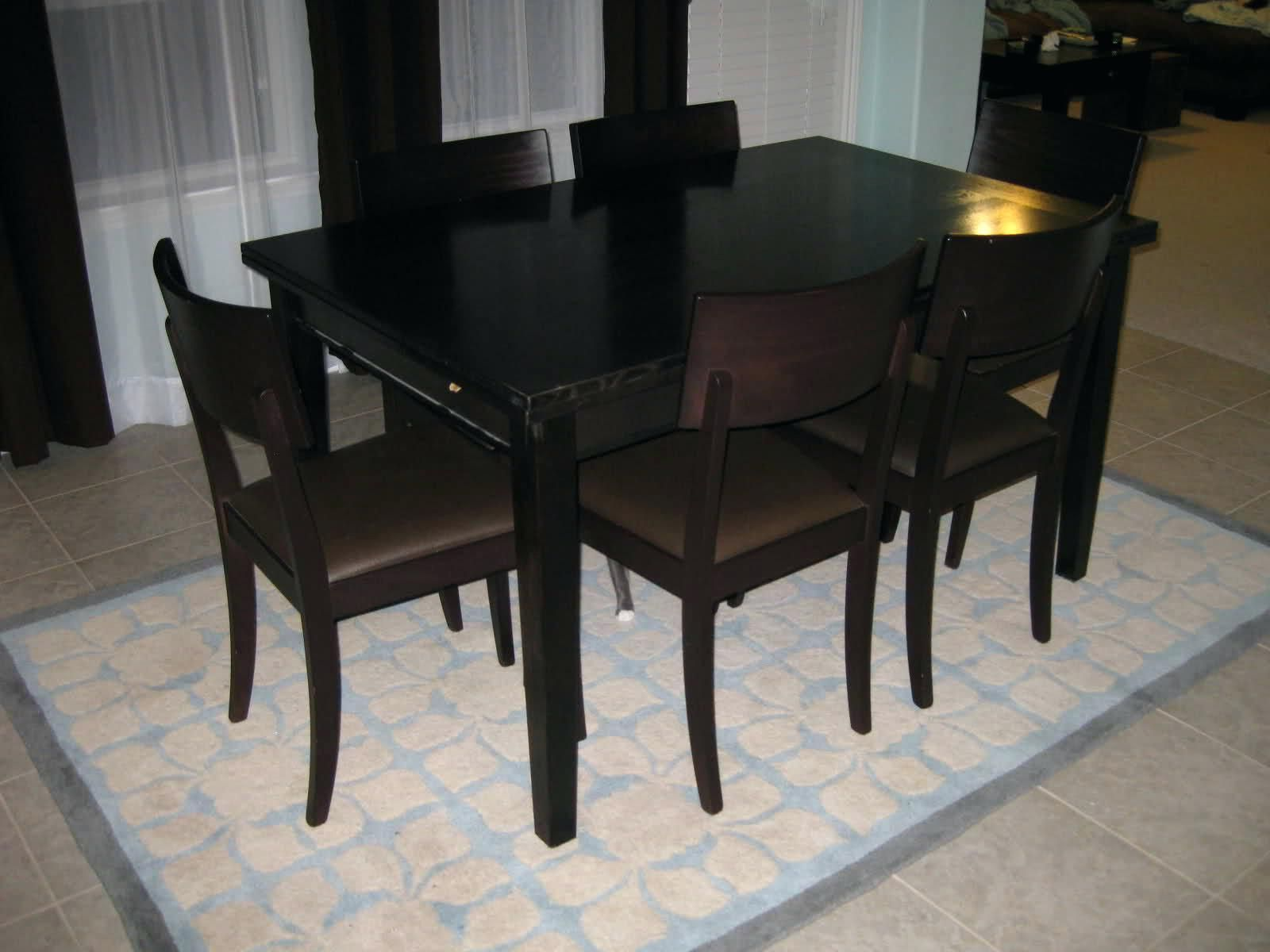 Wonderfull crate and barrel kitchen table and chairs kitchentable