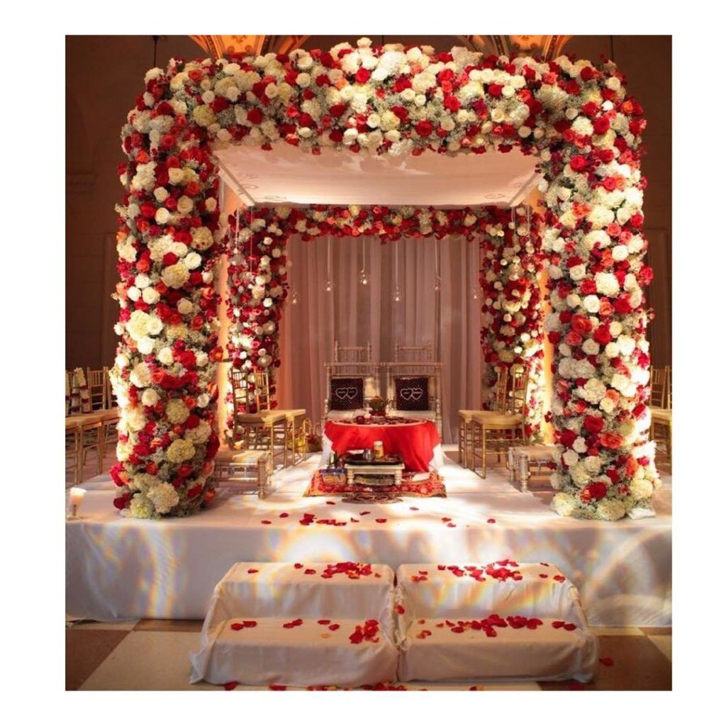 Stunning Mandap Decor Ideas For The Indoor Wedding Wedding