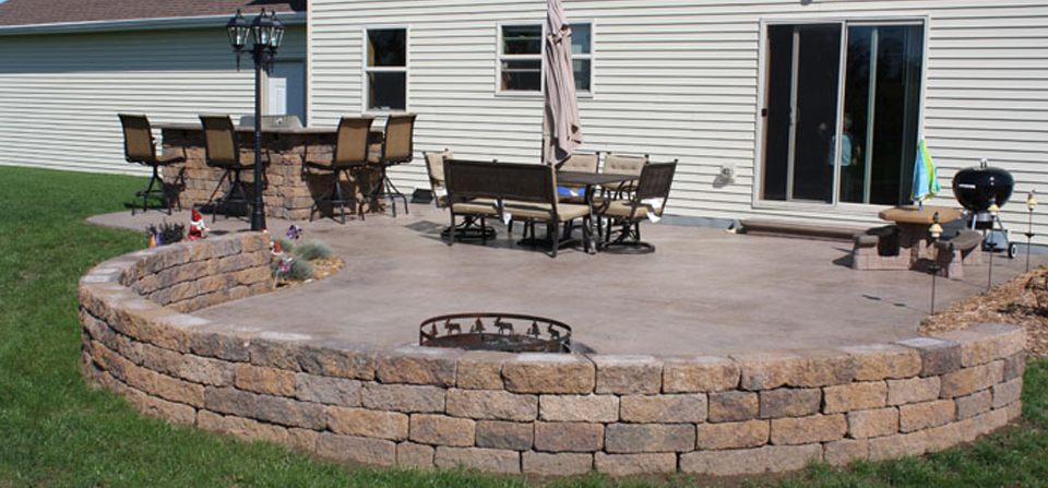 Stamped Concrete Patios And Walkways   McHughu0027s Decorative Concrete U2013 Patios,  Driveways, Walkways, Garages, And