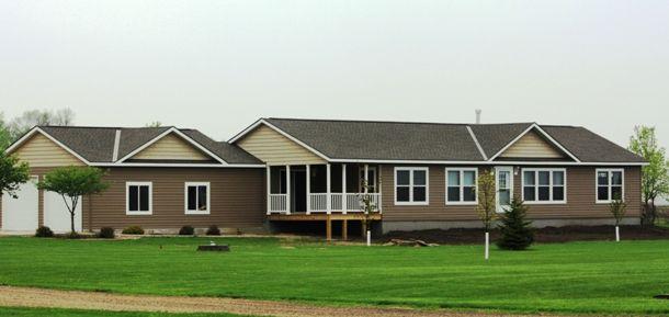 2000 houses 3 bedroom modular home | MN Schult Modular Home