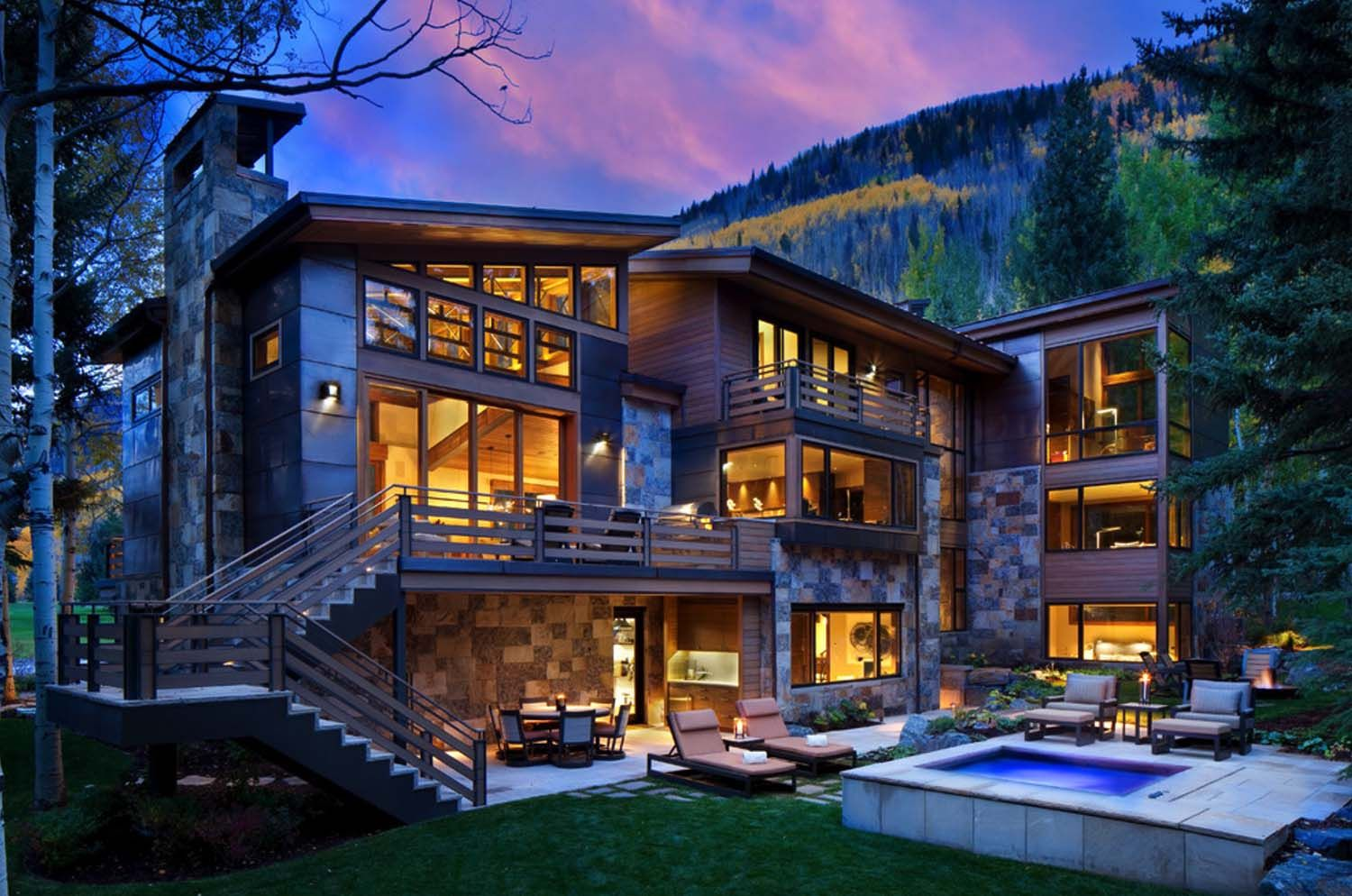 Captivating Modern-rustic Home In Colorado Mountains