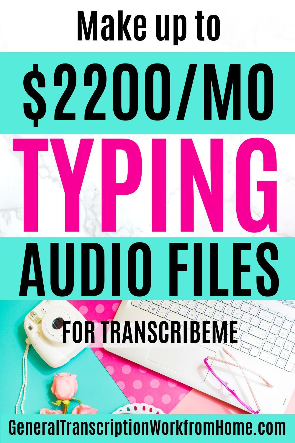 Transcription Jobs for Beginners with TranscribeMe Work