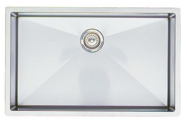 """View the Blanco 513686 Precision Single Basin Stainless Steel Kitchen Sink 32"""" x 20"""" at FaucetDirect.com."""
