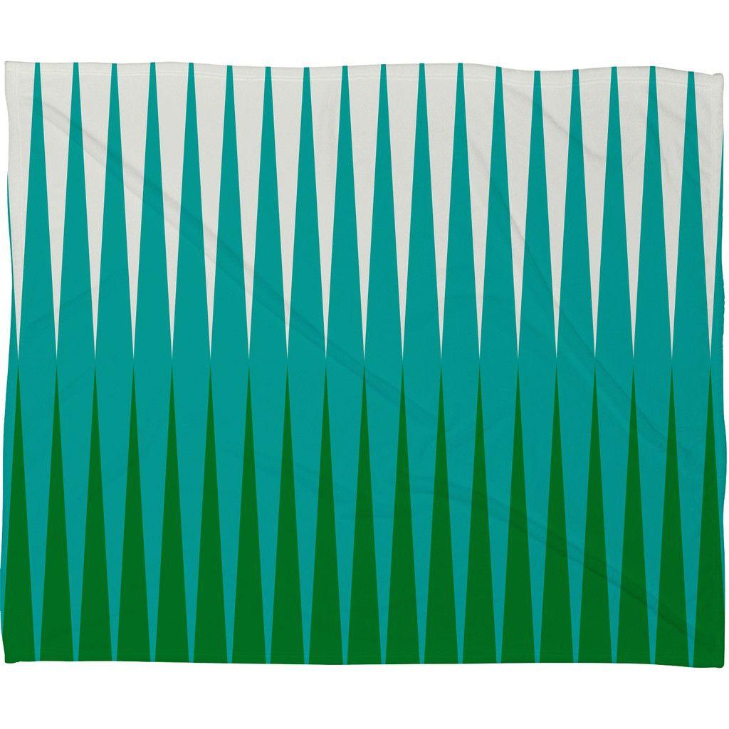 Caroline Okun Clover Fleece Throw Blanket | DENY Designs Home Accessories
