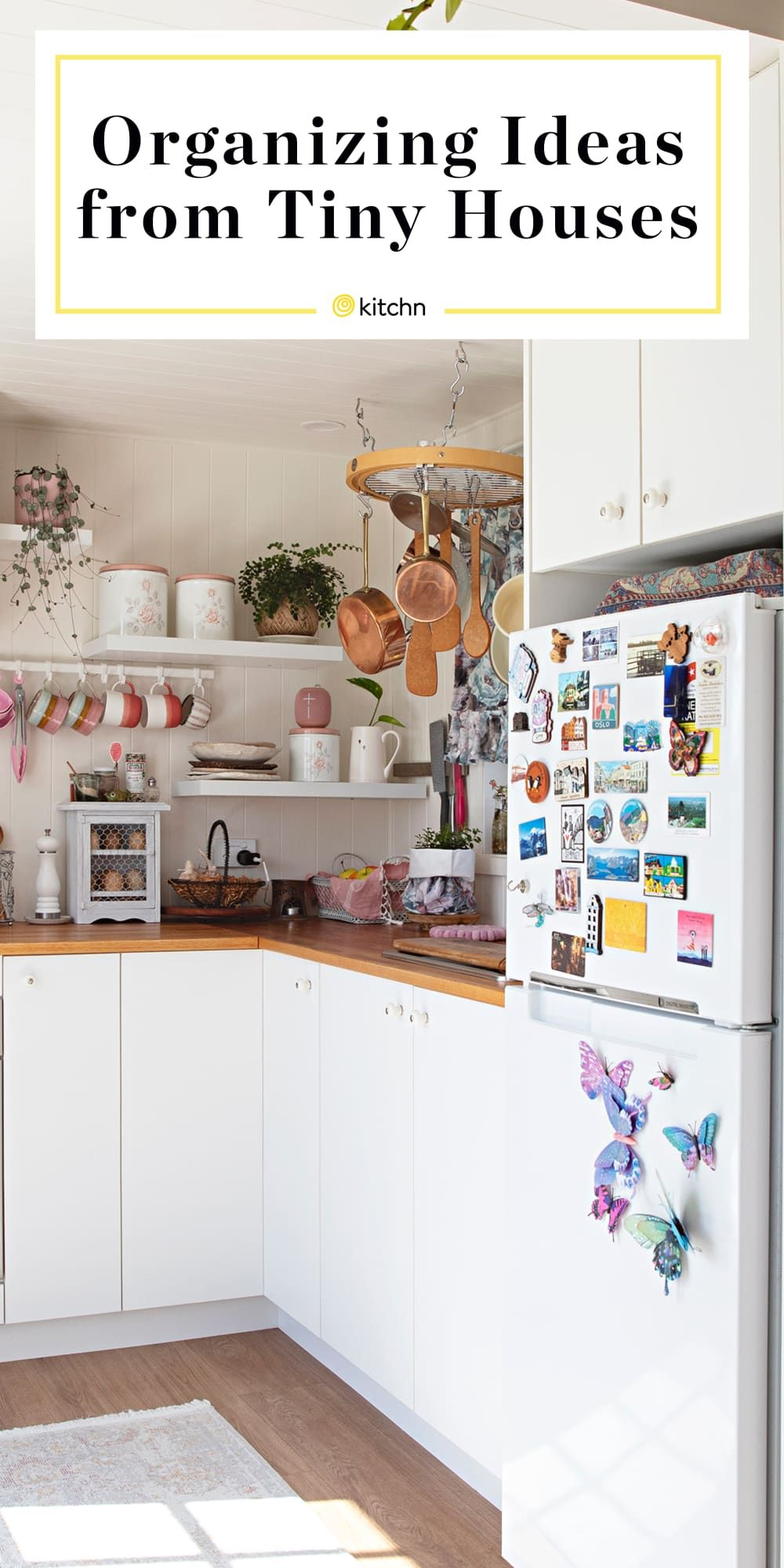The 10 Best Organizing Ideas We Learned From Tiny Houses Tiny House Storage Tiny House Organization Tiny House Kitchen