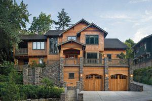 Hillside Home Plans   Hillside Home Designs From HomePlans.