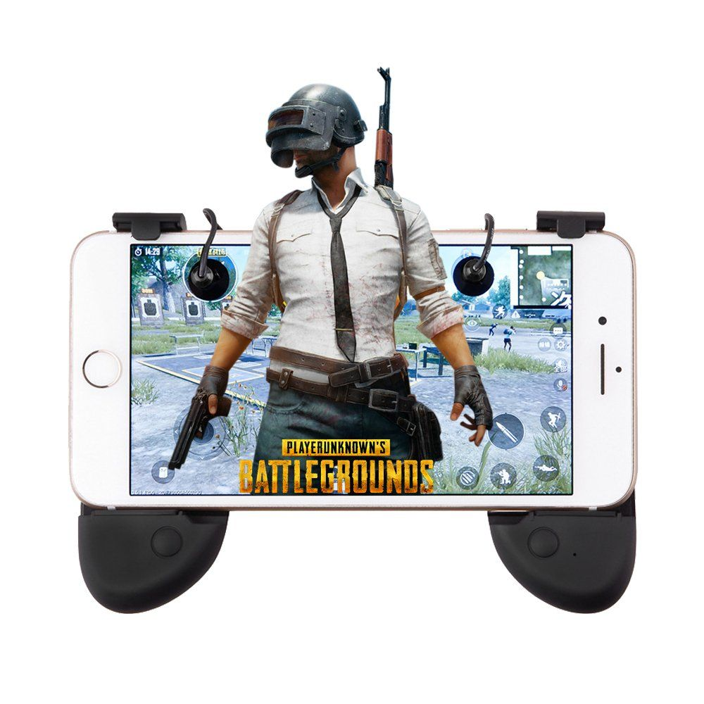 Trachen Pubg Mobile Game Controller Sensitive Shoot And Aim Triggers L1r1 Mobile Gaming Joystick Gamepad For Fortnite Pubg Game Controller Mobile Game Joystick