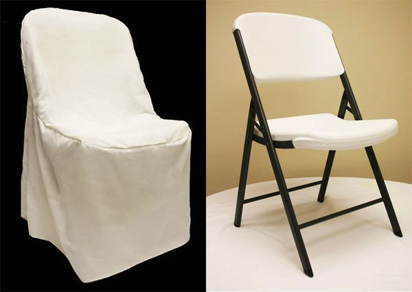 LIFETIME folding chair Cover Light IvoryOff White