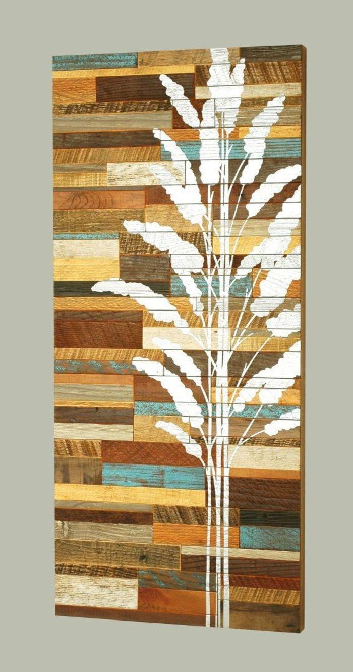 2017 Wanddekoration Selber Machen Holz