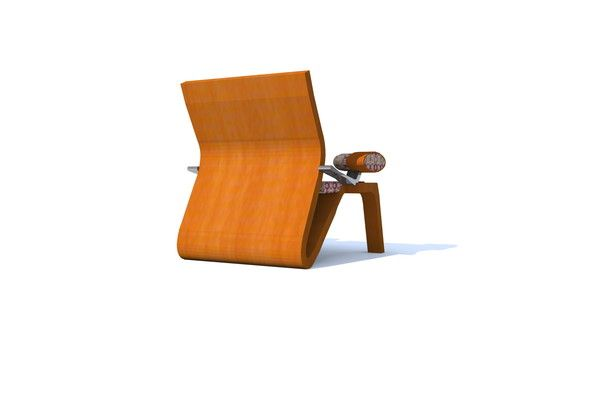 AOSSI METECK...AFRICAN FURNITURE DESIGN CHAIR...BROADCASTING
