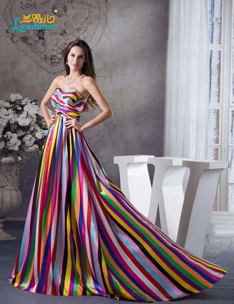 Vestiti Colorati Eleganti.Trova Piu Prom Dresses Informazioni Su Vestiti Lunghi Da Promenade