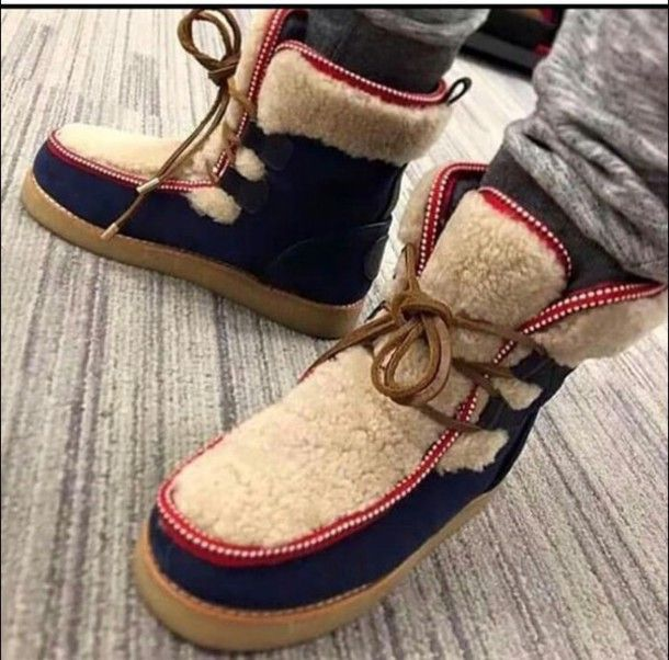Mens Moschino Boots Moccasin Boots Boots Shearling Boots