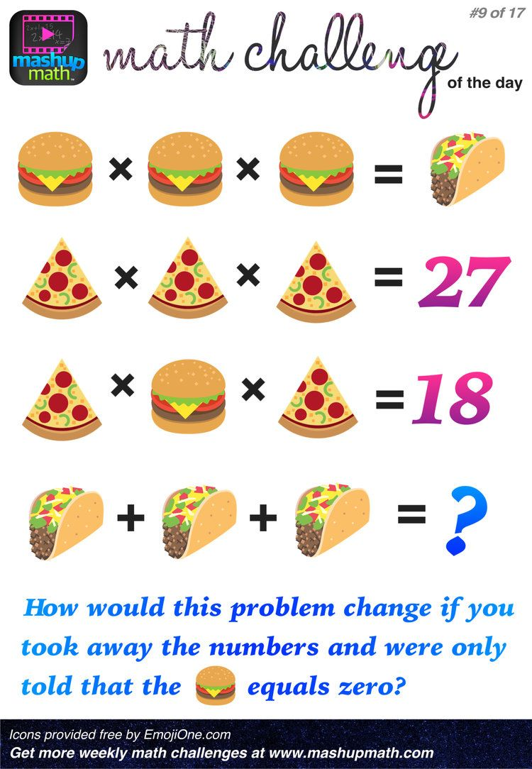 Are You Ready for 17 Awesome New Math Challenges? — Mashup