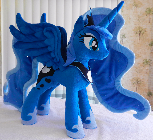 Equestria Daily: Luna Day: Plushies, Crafts, and Customs!