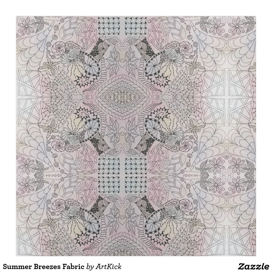 "Custom Pima Cotton (54"" width) Fabric"
