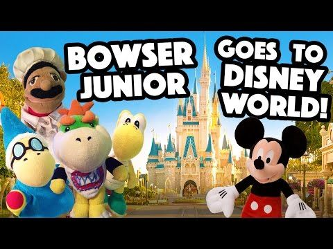 Sml Movie Bowser Junior Goes To Disney World Part 1