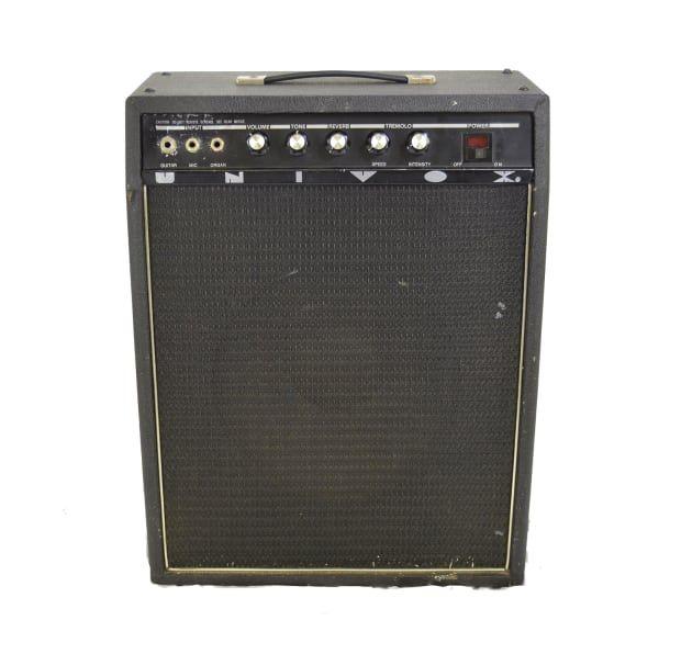 Vintage 60s Univox U65rn Guitar Combo Amp W Tremolo Reverb Guitar Hangar Reverb Distortion Pedal Amp Guitar