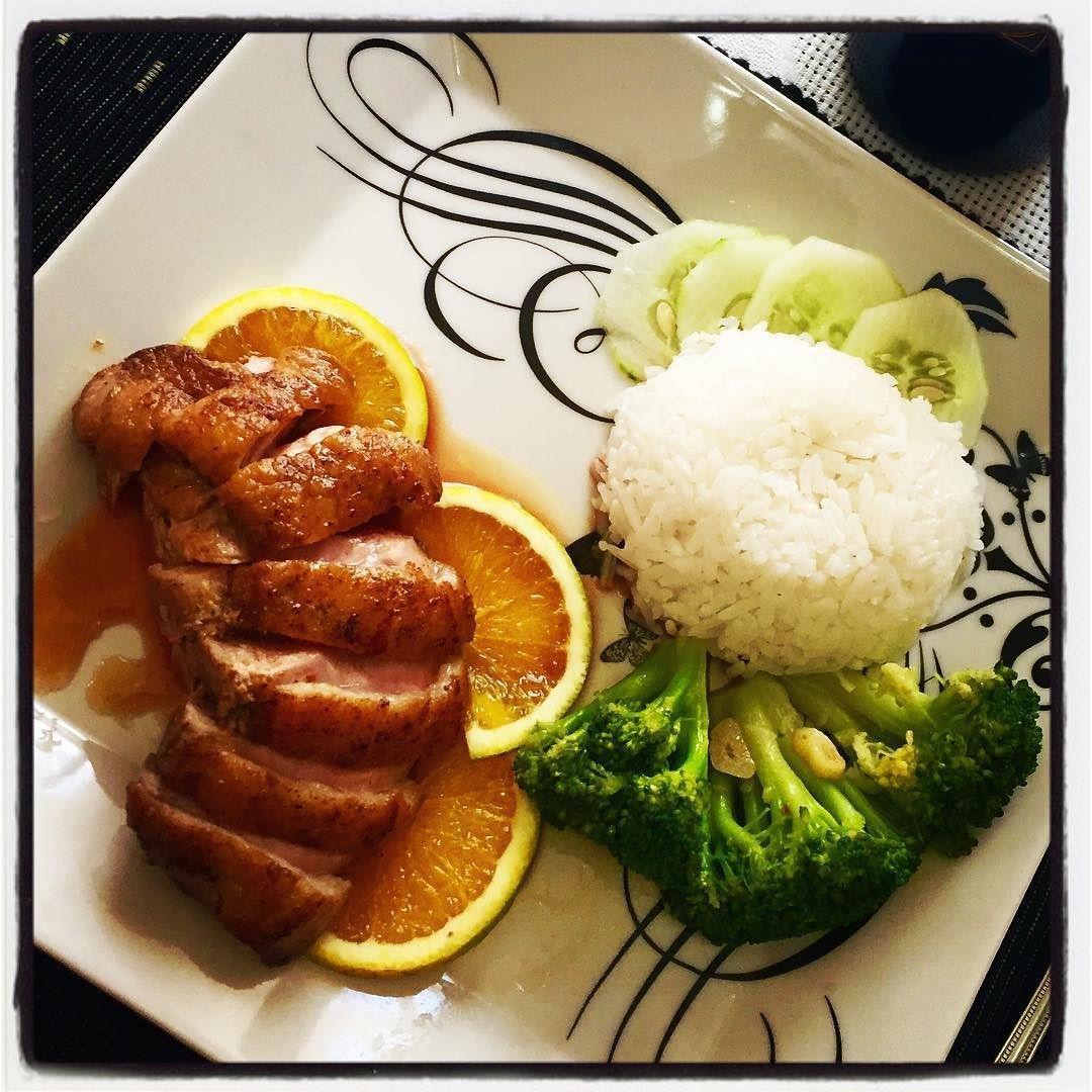 Magret de Canard #home #orange #honey #birodesabores #pato by abelharosa
