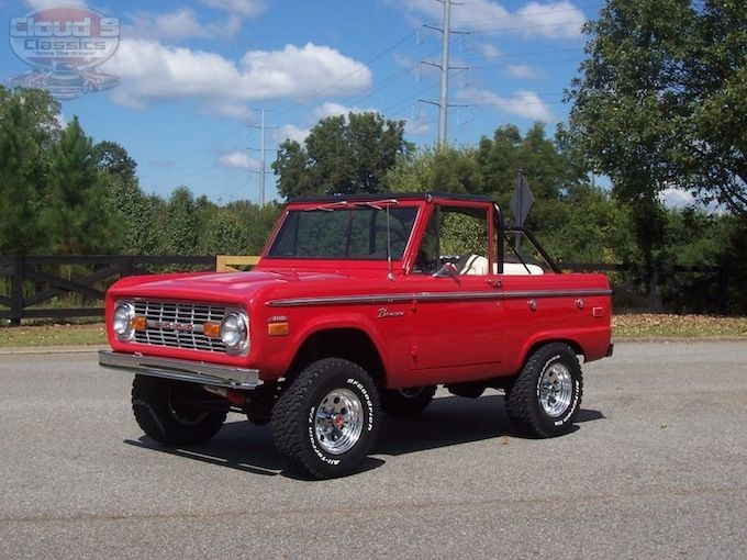 1970 Ford Bronco Sold Ford Bronco Early Bronco Classic Ford Broncos