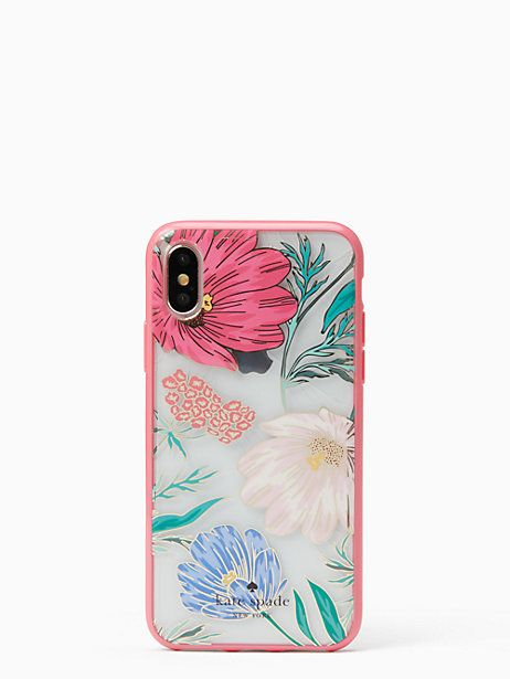 big sale d84b8 6a65c Kate Spade Blossom Iphone X Case, Cream | Products in 2019 | Phone ...