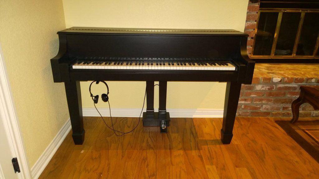 Custom DIY stand for my Technics SXP30 Digital Pianos
