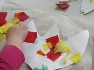 We made tissue paper flowers in preschool tissue paper flowers we made tissue paper flowers in preschool teach preschool mightylinksfo