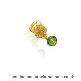 http://www.genuinepandoracharmssale.co.uk/delicate-pandora-green-beads-gold-charms-onlinestores.html#  Superb Pandora Green Beads Gold Charms Onlinesales