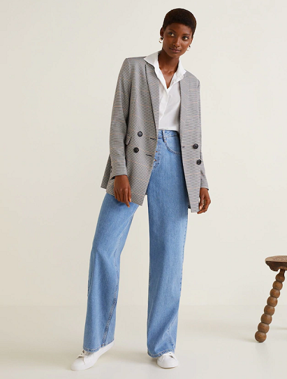 ea68a5e2f8a3 Jeans flare wideleg - Jeans da Donna | 2019 PANTS | Mango jeans ...