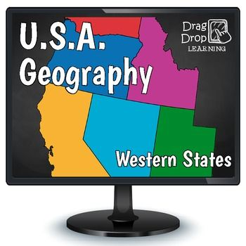 FREE Smartboard US Geography Game For Kids Use On An Interactive - Free geography games